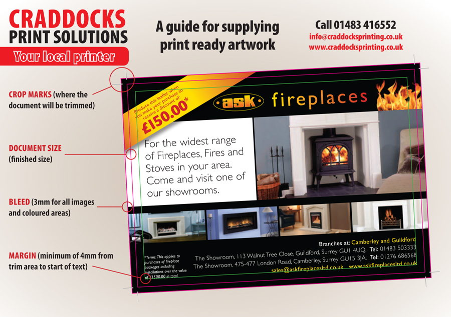 Craddocks Printing Artwork Guide